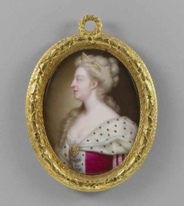 Christian Frederick Zincke, Queen Caroline, c.1727  Royal Collection Trust / copyright Her Majesty Queen Elizabeth II 2014 used with permission. All rights reserved.