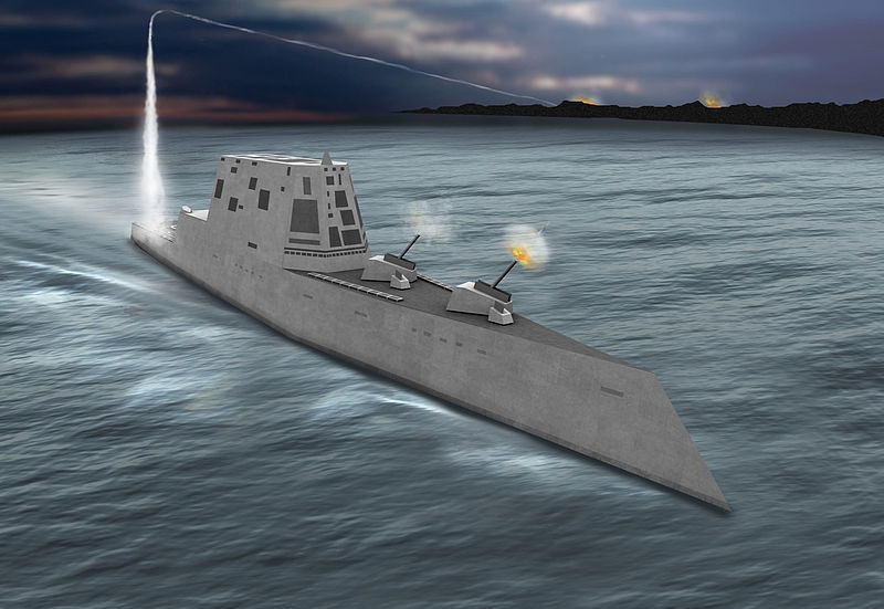 USS Zumwalt: America's Most Advanced Destroyer Sails Troubled Seas