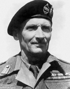 "The real Field Marshal Bernard ""Monty"" Montgomery."