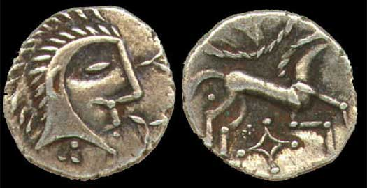 The Coins of Claudius to Queen Boudica