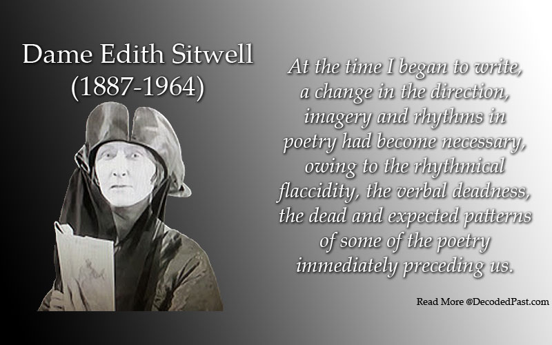 Dame Edith Sitwell: Influential, Radical Poet, and World's First Rapper?