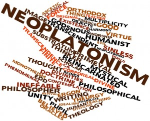 Word cloud for Neoplatonism
