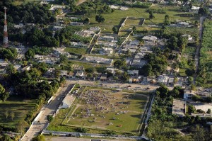 Haiti's devastating earthquake was just M7.0. Image: US Coast Guard
