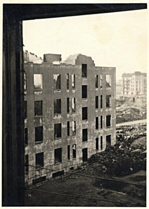 In 1943 tens of thousands died during the bombing of Hamburg