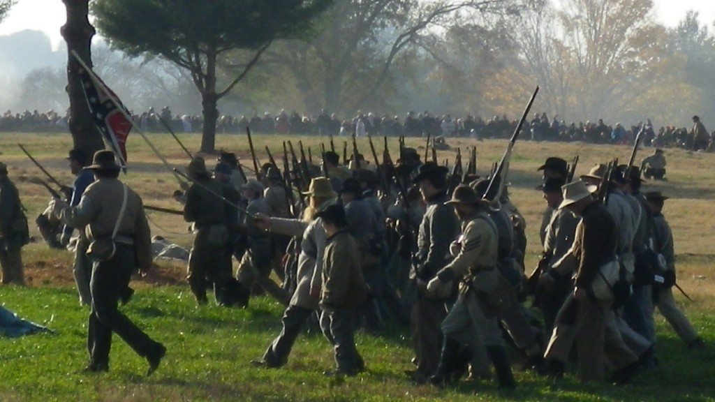 The Battle of Franklin: Re-Enactment 150 Years Later