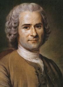 Jean-Jacques Rousseau painted by Maurice Quentin de La Tour.