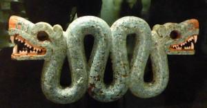 Mosaics - Aztec Ornament - Double-headed serpent