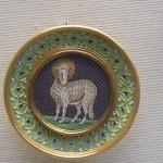 Mosaics - Lamb of God by Castellani