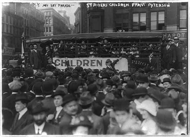 Woodrow Wilson's America 100 Years Ago