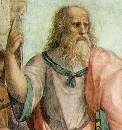 Plato by Raphael, 1509. Public Domain, Wikimedia Commons