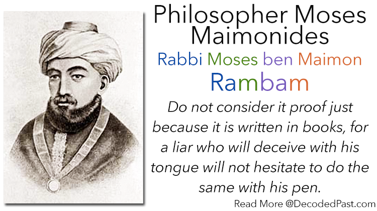 Moses Maimonides: Philosopher and Court Physician