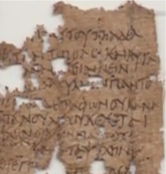 Letter Home from Egyptian Soldier in Roman Pannonia