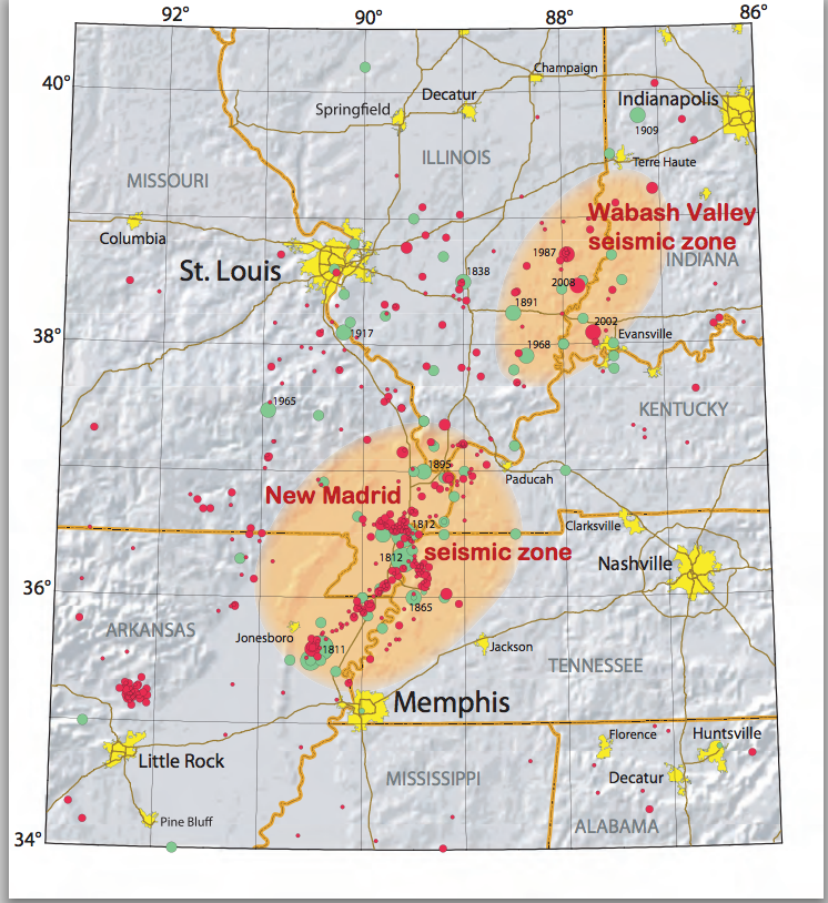 The New Madrid Earthquake Series of 1811-12