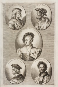 Engraving of Artists