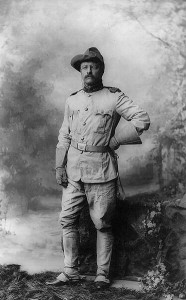 In 1898 Theodore Roosevelt was a colonel in the war. He probably saved the lives of many men by getting them out of Cuba before they caught yellow fever. Image courtesy of the US Library of Congress.