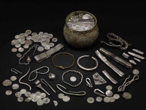 The Vale of York hoard, AD 900s. Image - British Museum used with permission.