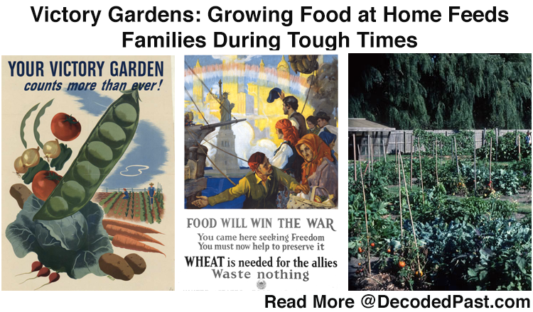 Victory Gardens Grew from Our Historical Past