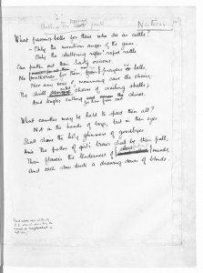 Wilfred Owen, Anthem for doomed youth. Used by permission of the Estate of Wilfred Owen. All rights reserved.